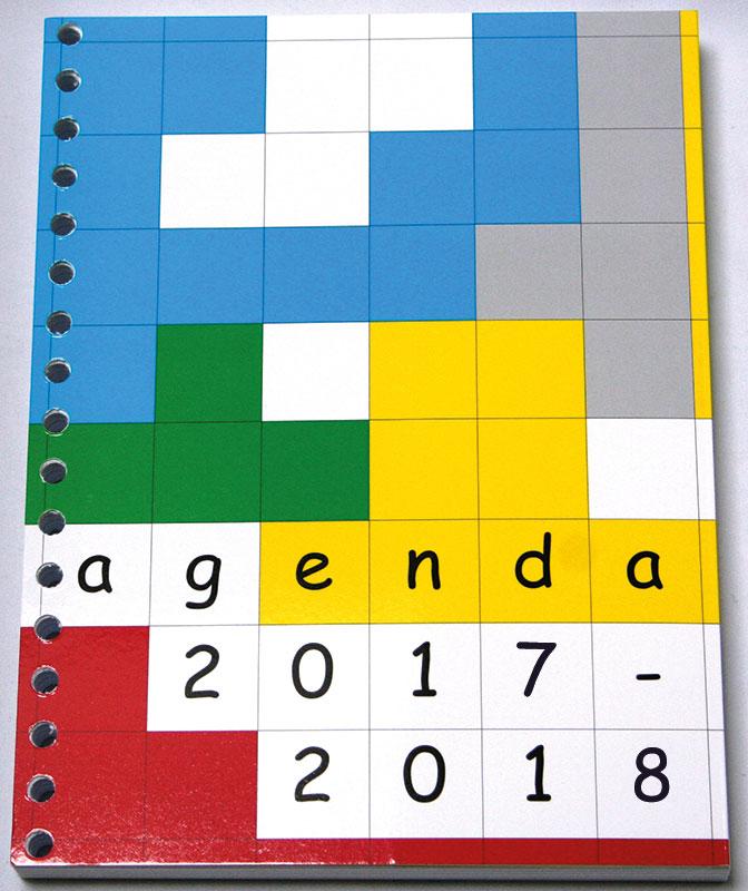 agenda zonder stickers