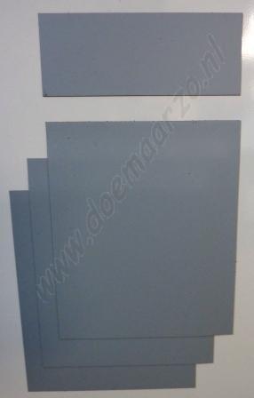 Kleurensysteem zelf samenstellen - grijs (5x5 cm)
