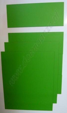 Kleurensysteem zelf samenstellen - groen (5x5 cm)