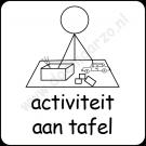 Activiteit aan tafel