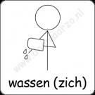Zich wassen