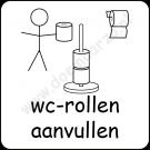 Wc-rollen aanvullen
