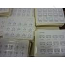Extra bij te bestellen: losse pictogramvellen met 15 stickers per vel