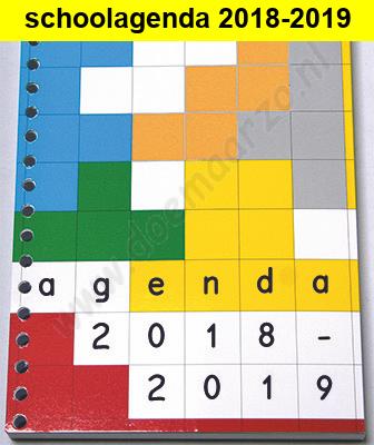 schoolagenda 2018-2019