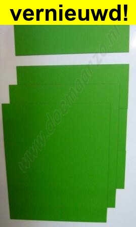 Kleurensysteem zelf samenstellen - groen (3x3 cm)